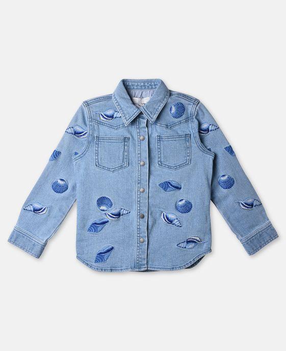 Jules Denim Shells Emroidery Shirt