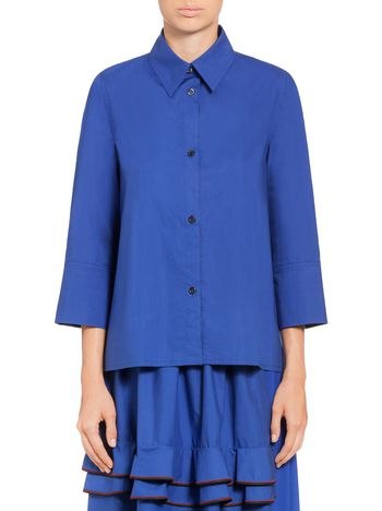Marni Asymmetrical poplin shirt Woman