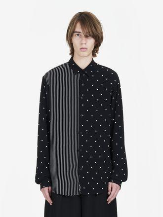 Polka Dot/Stripe Mix Shirt