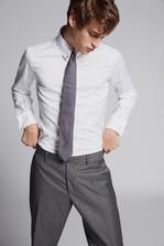 DSQUARED2 Slim Fit Poplin Shirt Рубашка Для Мужчин