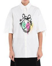 BOUTIQUE MOSCHINO Short sleeve shirt Woman r