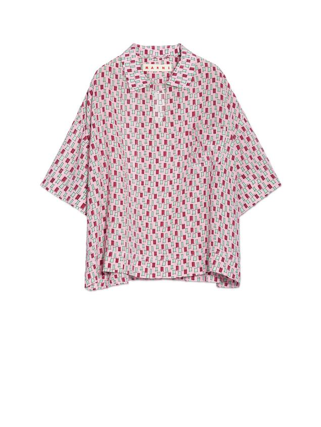 Pink Taos print blouse Marni Free Shipping Latest Outlet Sast Cheap Low Price Online Shop From China Low Cost pm9cqotTs