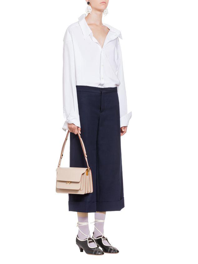 Marni Cotton shirt with white asymmetric collar Woman - 5