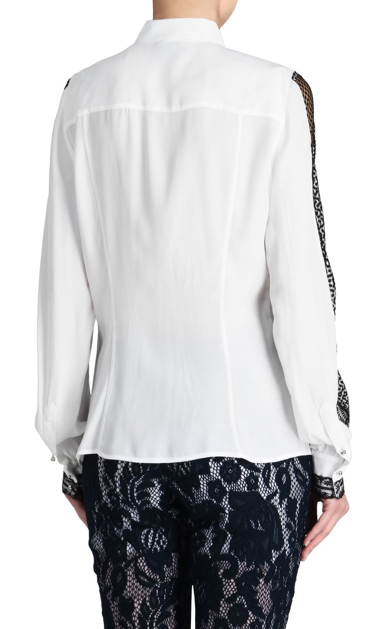 JUST CAVALLI Long-sleeved blouse with stripes Long sleeve shirt D d