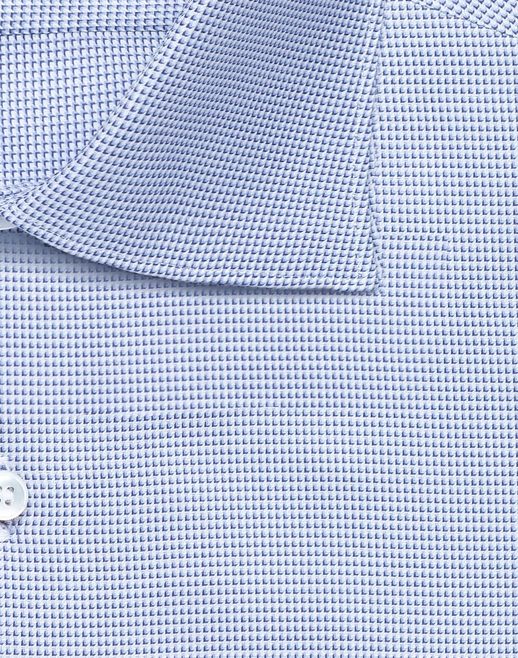 BRIONI Bluette and White Micro -Designed Formal Shirt Formal shirt Man e