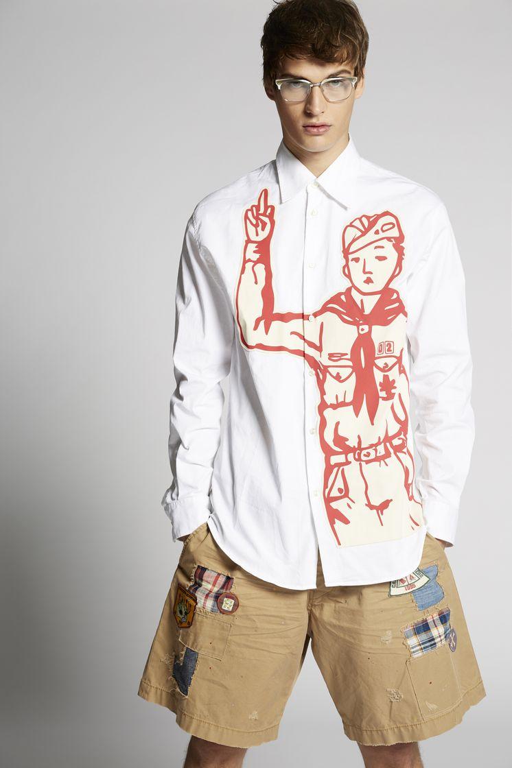 DSQUARED2 S74DM0083S35175100 Long sleeve shirt Man m