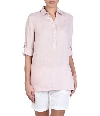 NAPAPIJRI GYNURA WOMAN LONG SLEEVE SHIRT,LIGHT PINK
