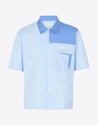 MAISON MARGIELA Short sleeve shirt U Cotton Guayabera shirt f