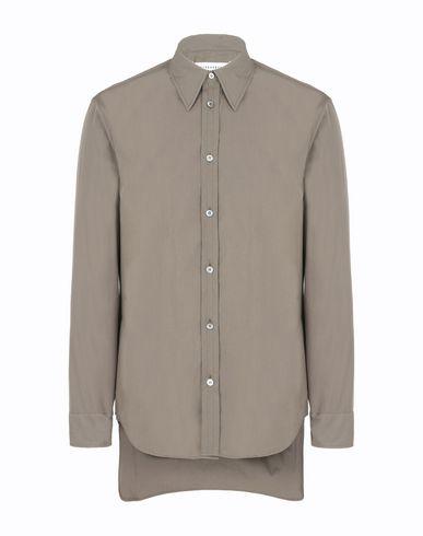 MAISON MARGIELA Cotton poplin shirt Long sleeve shirt Man f
