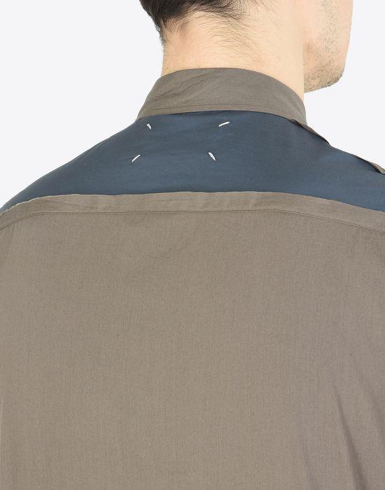 MAISON MARGIELA Cotton poplin shirt Long sleeve shirt [*** pickupInStoreShippingNotGuaranteed_info ***] b