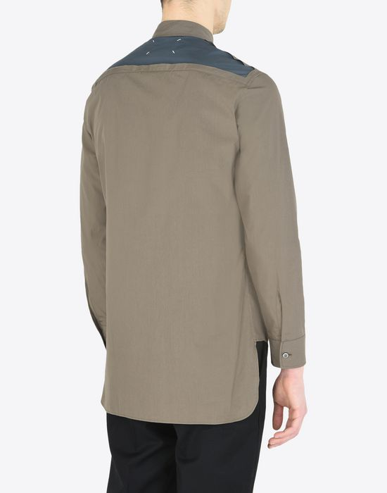 MAISON MARGIELA Cotton poplin shirt Long sleeve shirt [*** pickupInStoreShippingNotGuaranteed_info ***] e