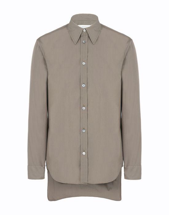 MAISON MARGIELA Cotton poplin shirt Long sleeve shirt [*** pickupInStoreShippingNotGuaranteed_info ***] f