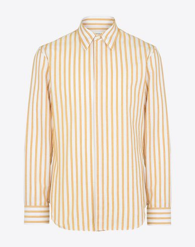 MAISON MARGIELA Stripe cotton shirt Long sleeve shirt U f