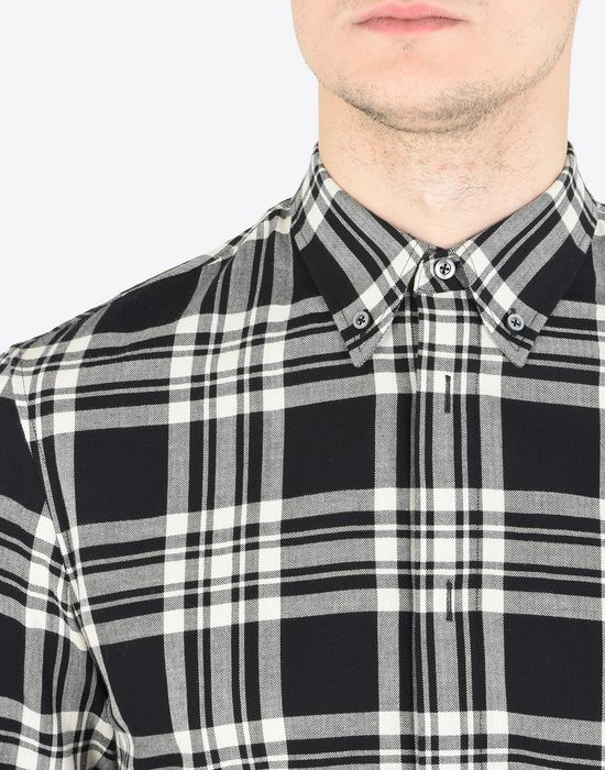 MAISON MARGIELA Check cotton shirt Long sleeve shirt Man a