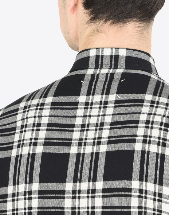 MAISON MARGIELA Check cotton shirt Long sleeve shirt Man b