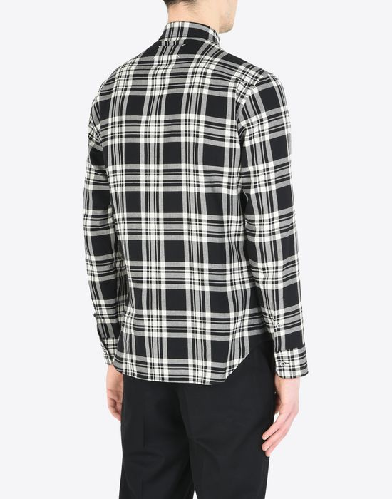 MAISON MARGIELA Check cotton shirt Long sleeve shirt Man e