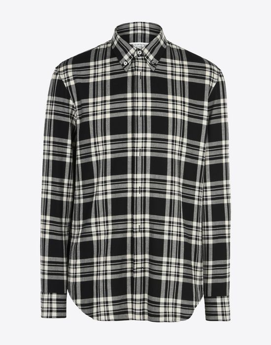MAISON MARGIELA Check cotton shirt Long sleeve shirt Man f