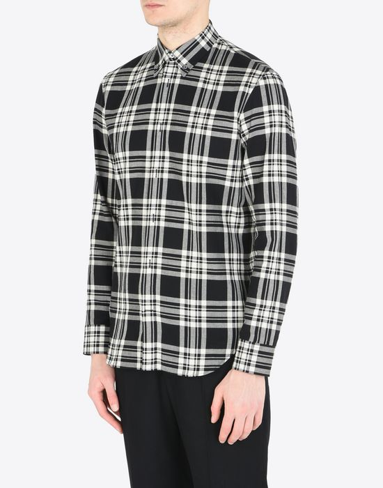 MAISON MARGIELA Check cotton shirt Long sleeve shirt Man r