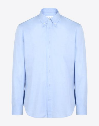 MAISON MARGIELA Long sleeve shirt U Cotton Oxford shirt f