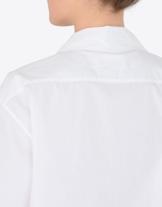 MM6 MAISON MARGIELA Chemise en coton avec épaules extra-larges Chemise manches courtes [*** pickupInStoreShipping_info ***] b