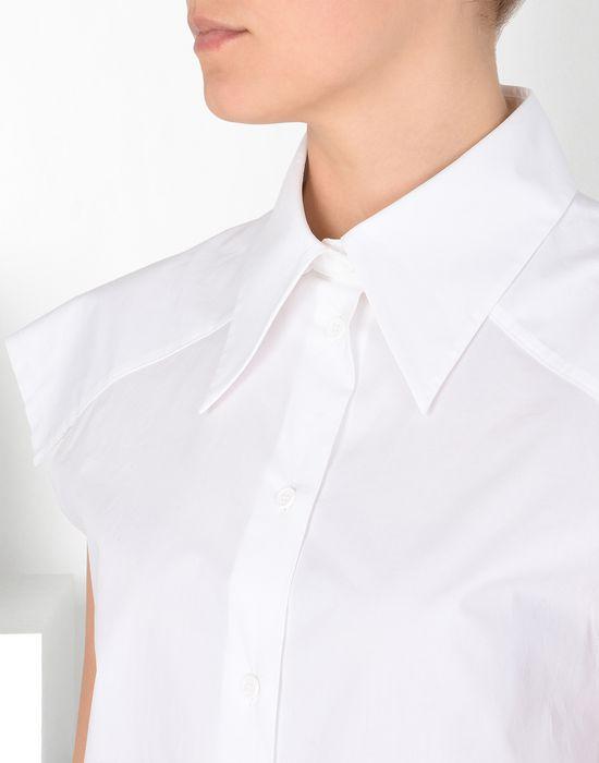 MM6 MAISON MARGIELA Chemise en coton avec épaules extra-larges Chemise manches courtes [*** pickupInStoreShipping_info ***] e