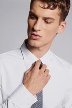 DSQUARED2 Chic Stretch Poplin Slim Shirt Рубашка с длинным рукавом Для Мужчин