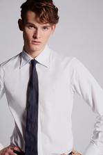 DSQUARED2 Cotton Poplin Slim Shirt Long sleeve shirt Man