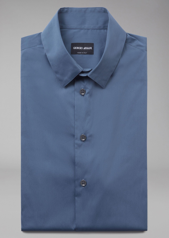 short sleeved shirt for men giorgio armani