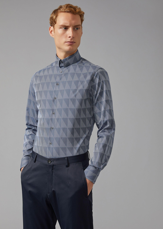 GIORGIO ARMANI Classic Shirt U f