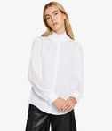 Poplin & Ggt Pleated Blouse