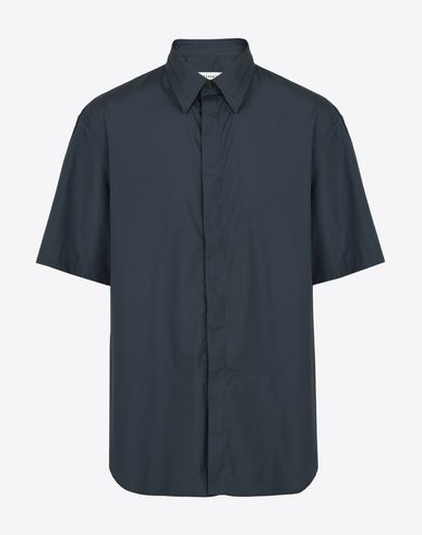 MAISON MARGIELA Short sleeve cotton shirt Short sleeve shirt U f