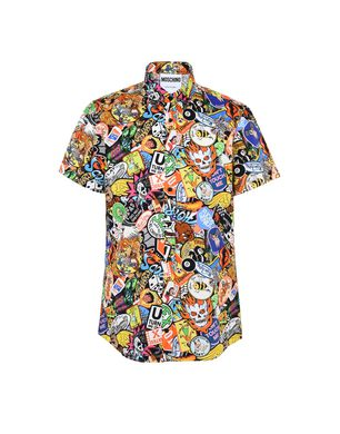 Moschino shirts for men, designer printed shirts | Moschino.com