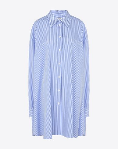 MAISON MARGIELA Long sleeve shirt D Oversized stripe cotton shirt f