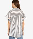KARL LAGERFELD Karl Sails Striped Short Sleeve Shirt 8_d