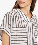 KARL LAGERFELD Karl Sails Striped Short Sleeve Shirt 8_e