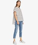 KARL LAGERFELD Karl Sails Striped Short Sleeve Shirt 8_r