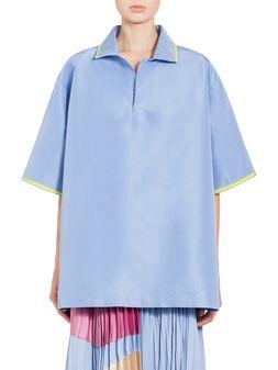 Marni Shirt in silk faille and polyamide Woman