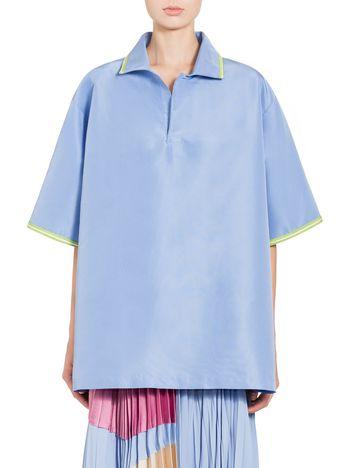 Marni Camicia in faille di seta e poliammide Donna