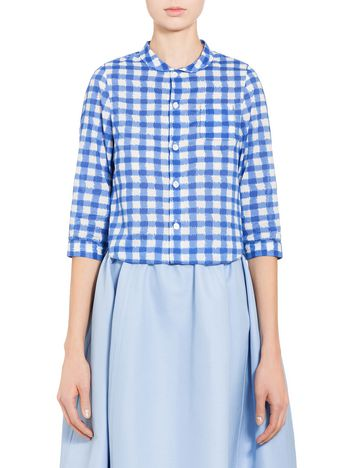 Marni Shirt in voile with Ingrid print Woman