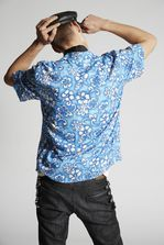 DSQUARED2 Hibiscus Rocker Shirt Рубашка Для Мужчин