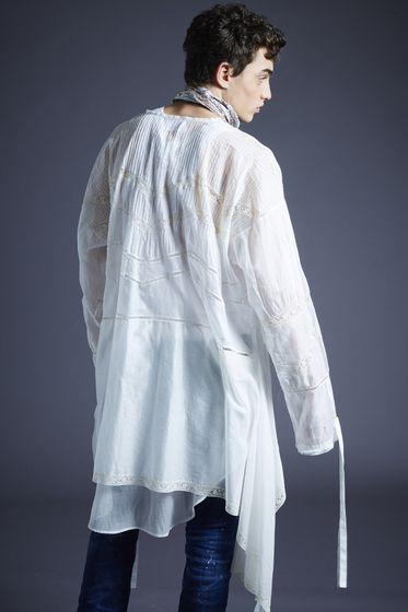 DSQUARED2 Denim shirt Man S71DM0214S30544470 b