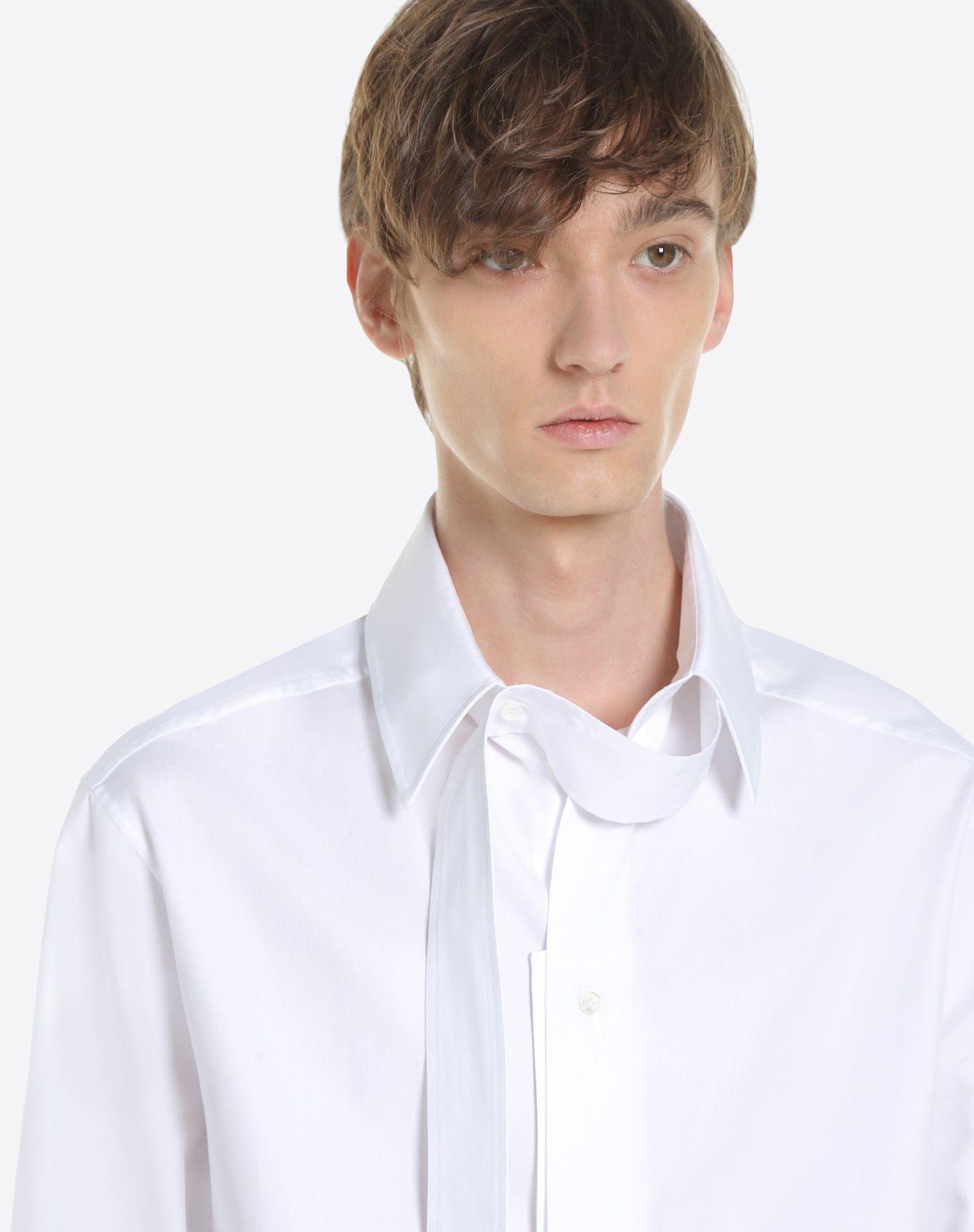 VALENTINO UOMO Long-sleeve denim shirt Shirt U a