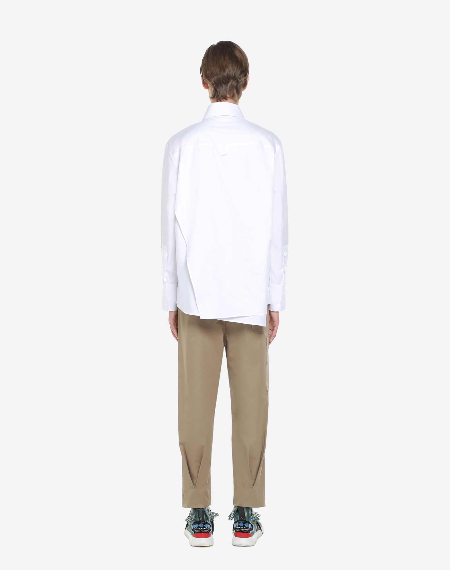 VALENTINO UOMO Long-sleeve denim shirt Shirt U e