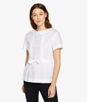 Drawstring Chinzed Poplin Top