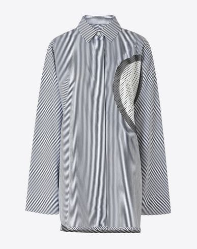 MAISON MARGIELA Long sleeve shirt D Cotton shirt with front cut-out f