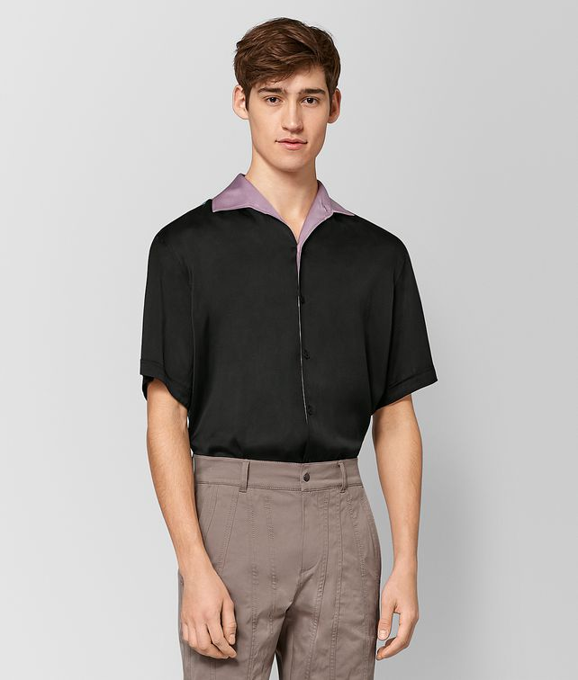BOTTEGA VENETA MULTICOLOR SILK SHIRT Shirt Man fp