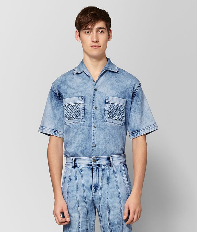 BOTTEGA VENETA ARCTIC DENIM SHIRT Shirt Man fp