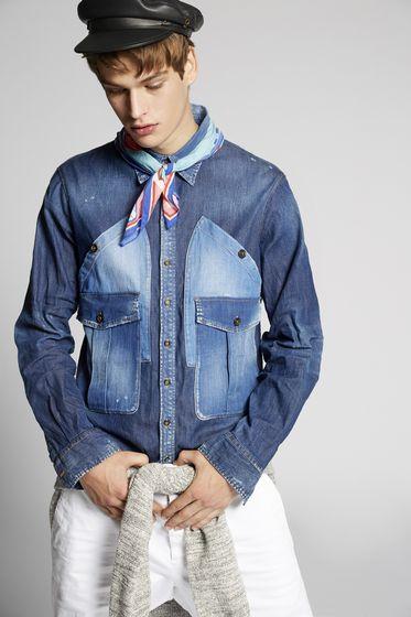 DSQUARED2 Shirt Man S71DM0157S36275100 m