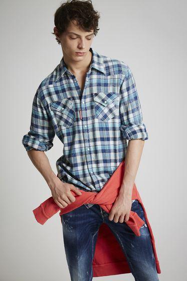 DSQUARED2 Shirt Man S71DM0181S48586001F m