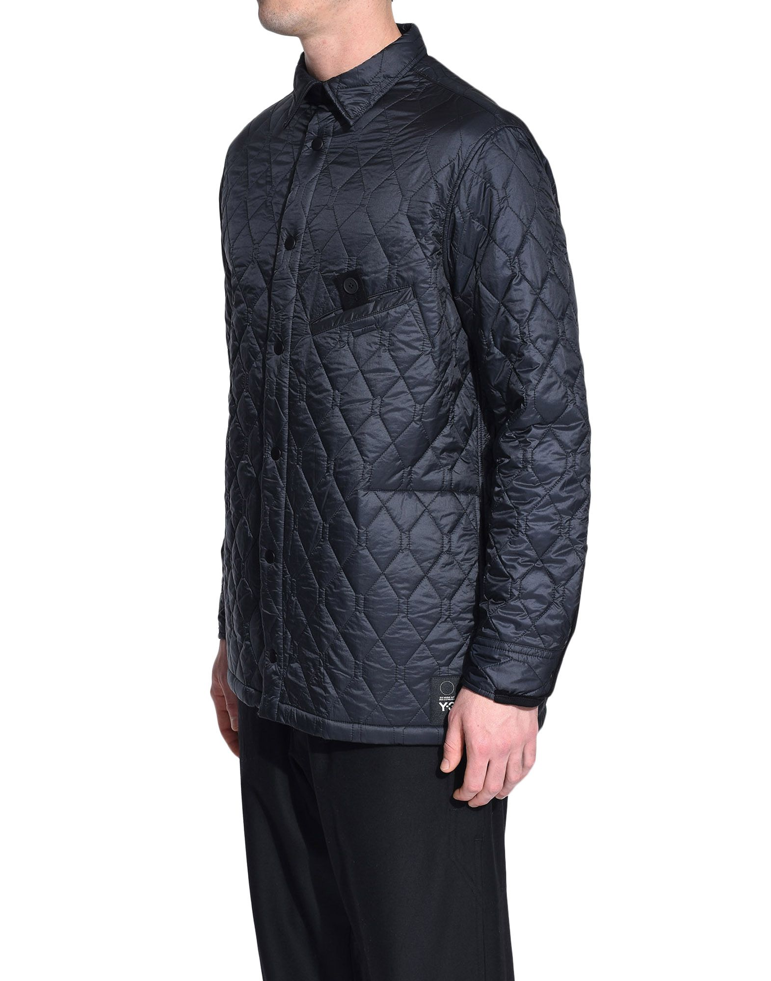 Y-3 Y-3 Quilted Shirt Long sleeve shirt Man e